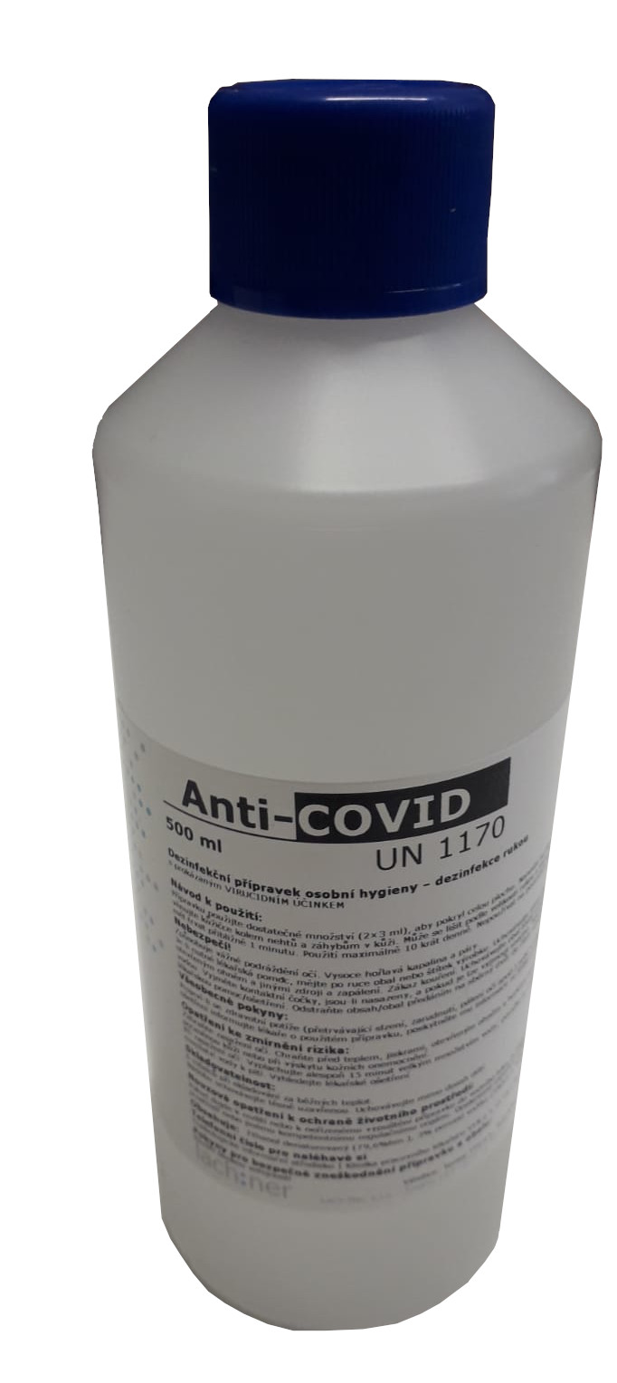 Anti-COVID dezinfekce -500ml