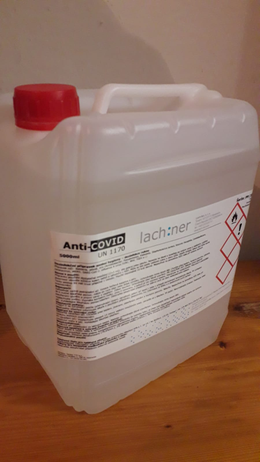 Anti-COVID dezinfekce -5000ml