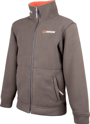 Bunda TIMOTHY  FLEECE hnědo-oranž.vel.XL
